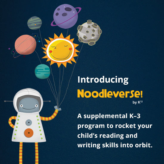 We are excited to introduce Noodleverse Language Arts, a new K–3 supplemental online reading and writing skills practice and enrichment program.