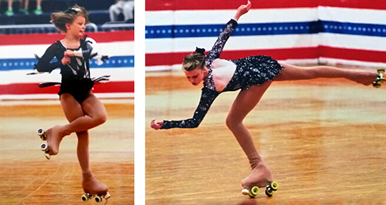 OHVA Students Excel at Figure Skating