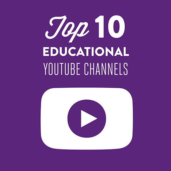 Ten Educational YouTube Channels for Parents and Kids