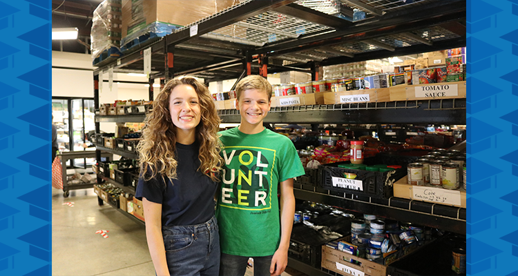 TVAH Siblings Giving Back to Community