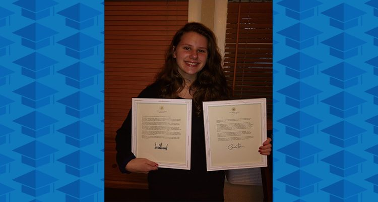 ARVA Student Earns Awards for Volunteer Service